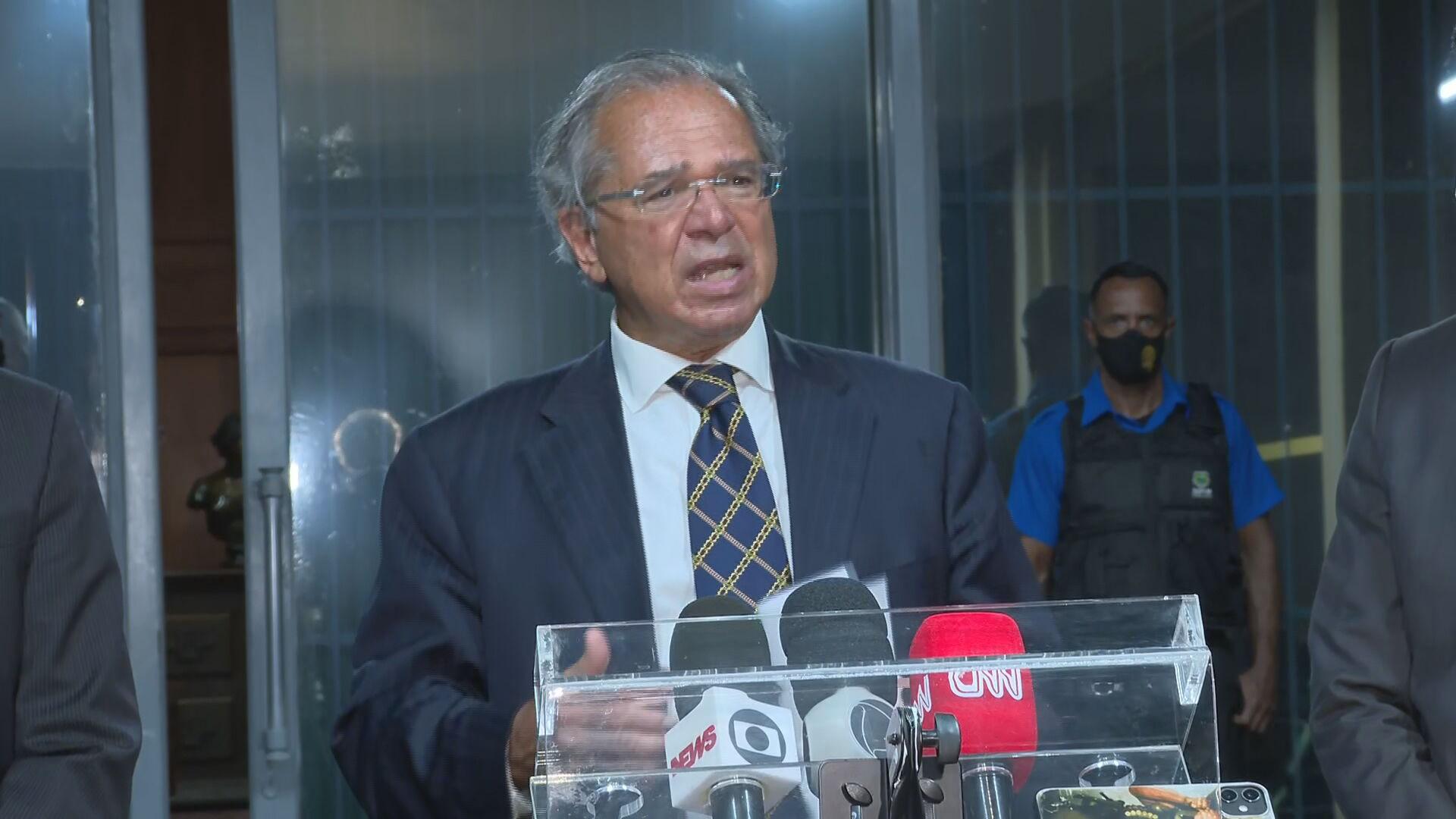 O ministro da Economia, Paulo Guedes (27.abr.2021)