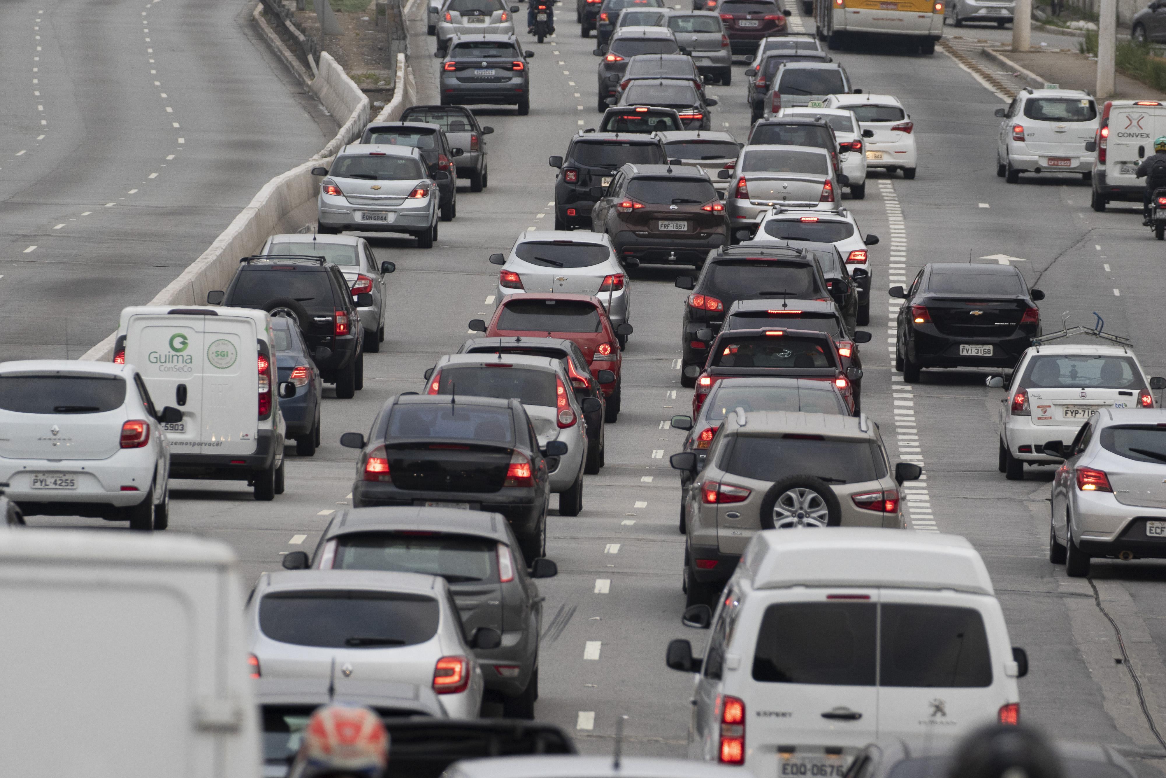 trânsito, São Paulo, coronavírus, lentidão, Waze