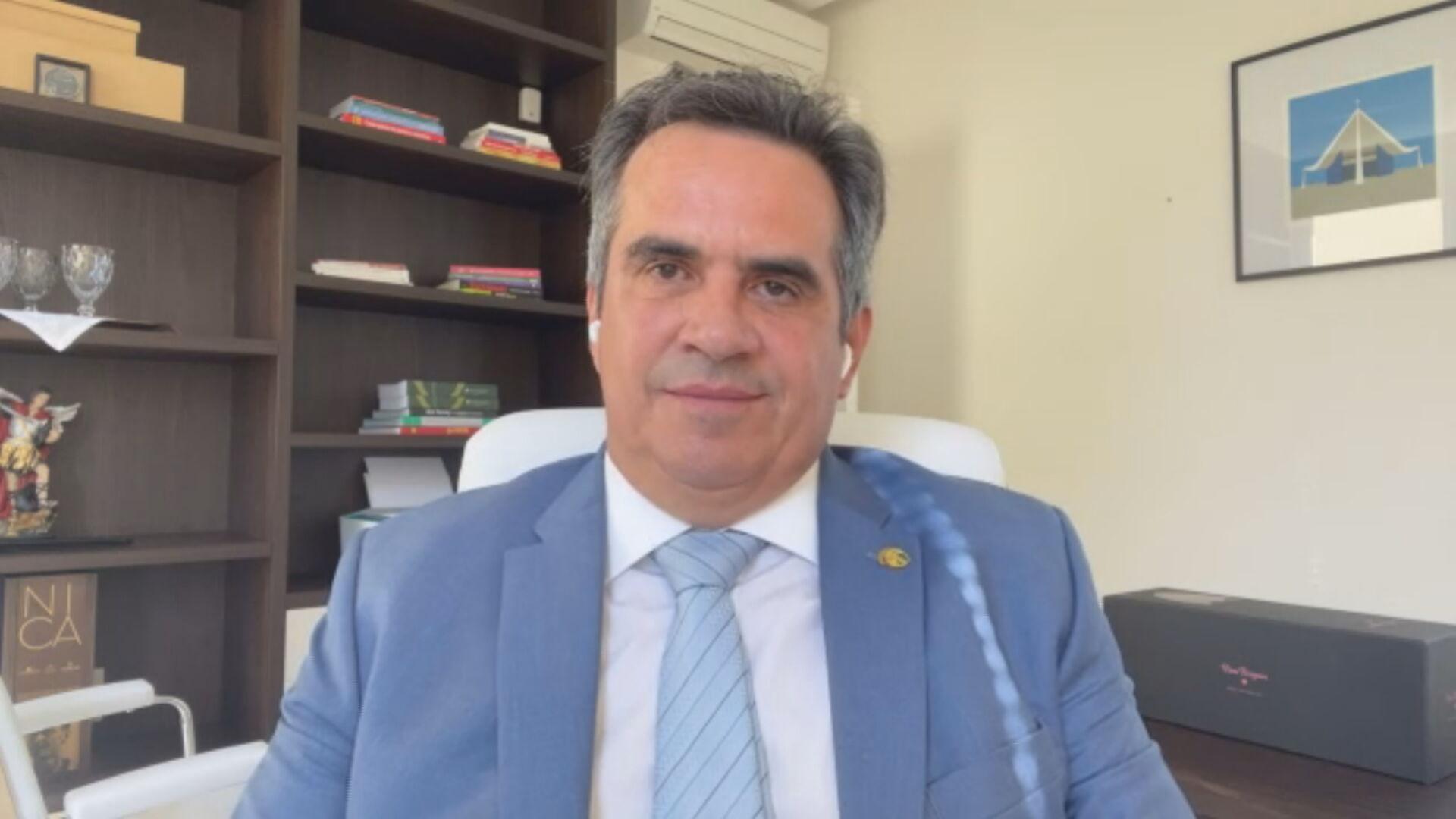 O senador Ciro Nogueira (PP-PI), integrante da CPI da Pandemia