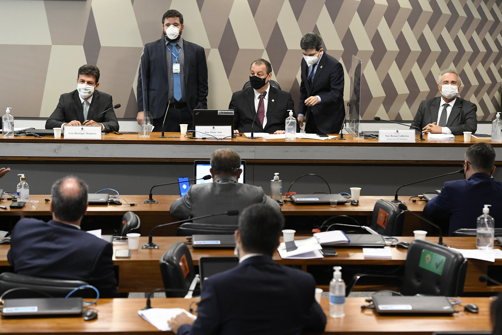 Oitiva de Luiz Henrique Mandetta, ex-ministro da Saúde, na CPI da Pandemia