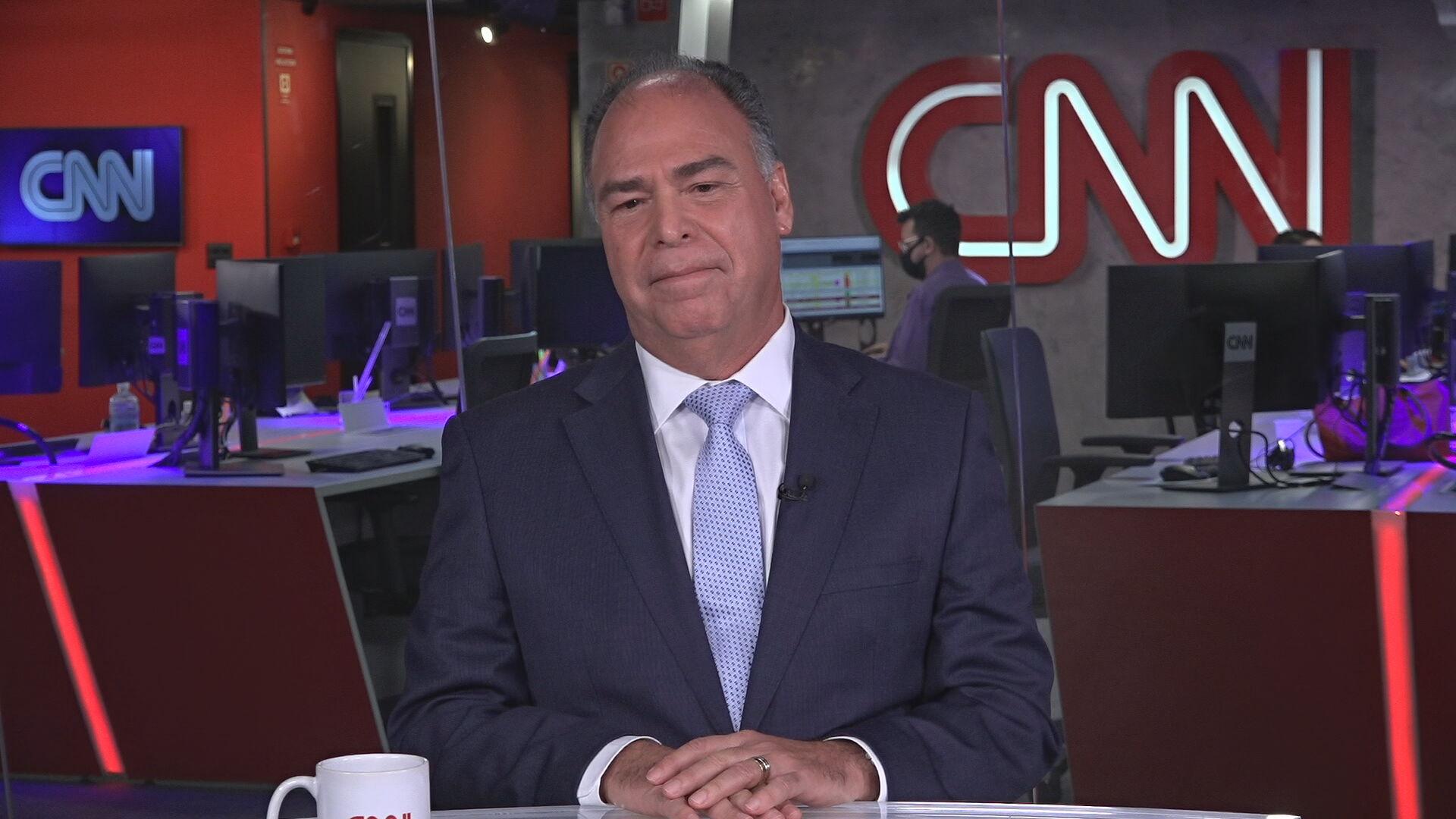 O senador Fernando Bezerra (MDB-PE) conversou com a CNN sobre a CPI da Pandemia
