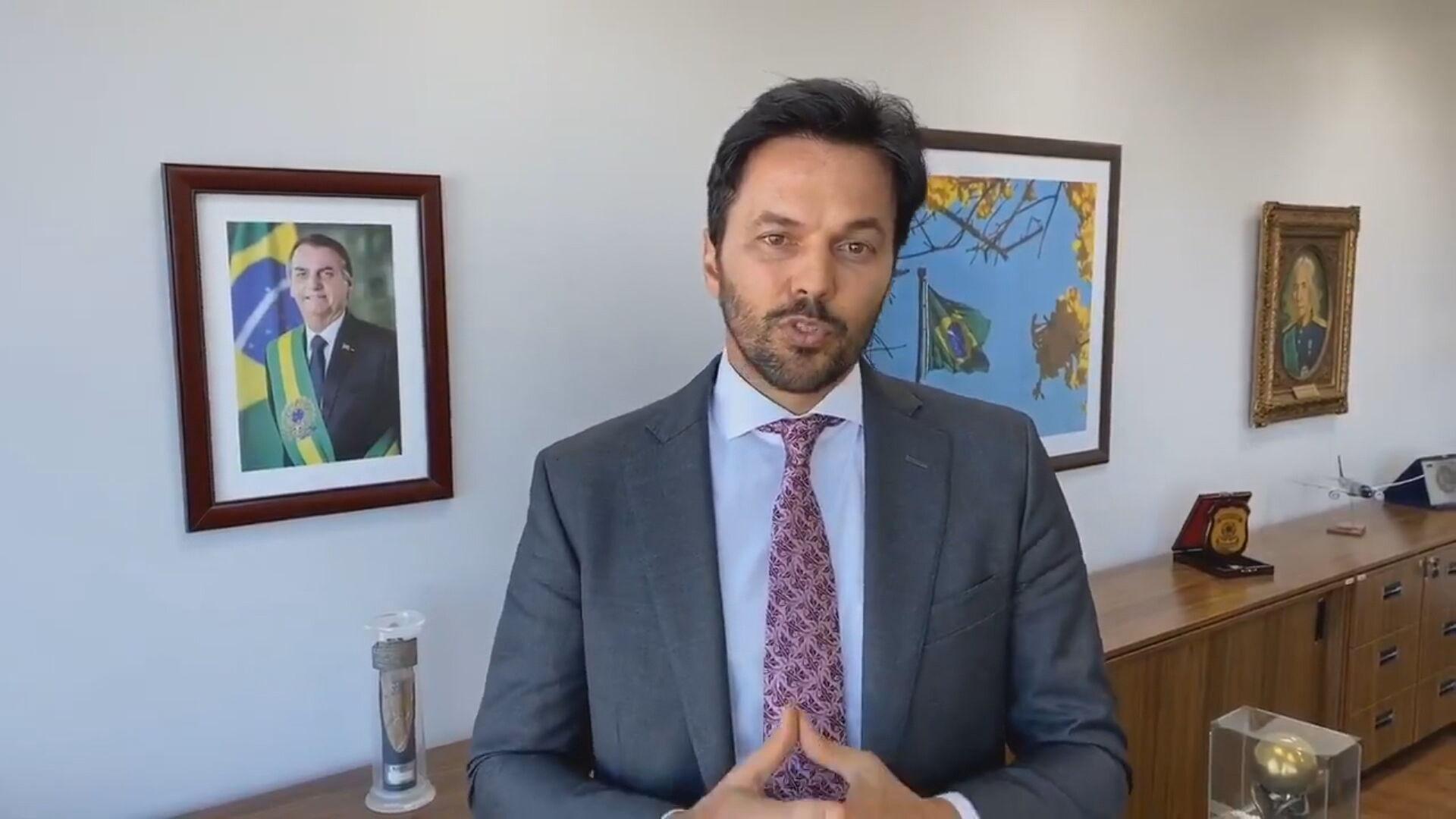 Ministro das Comunicações Fábio Faria respondeu a Mandetta sobre fala irônica