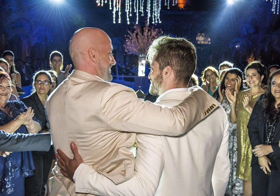 Casamento de Paulo Gustavo e Thales Bretas