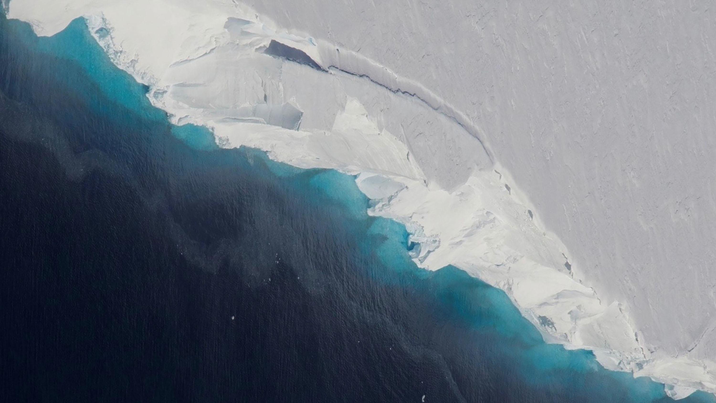 Manto de gelo na Antártica
