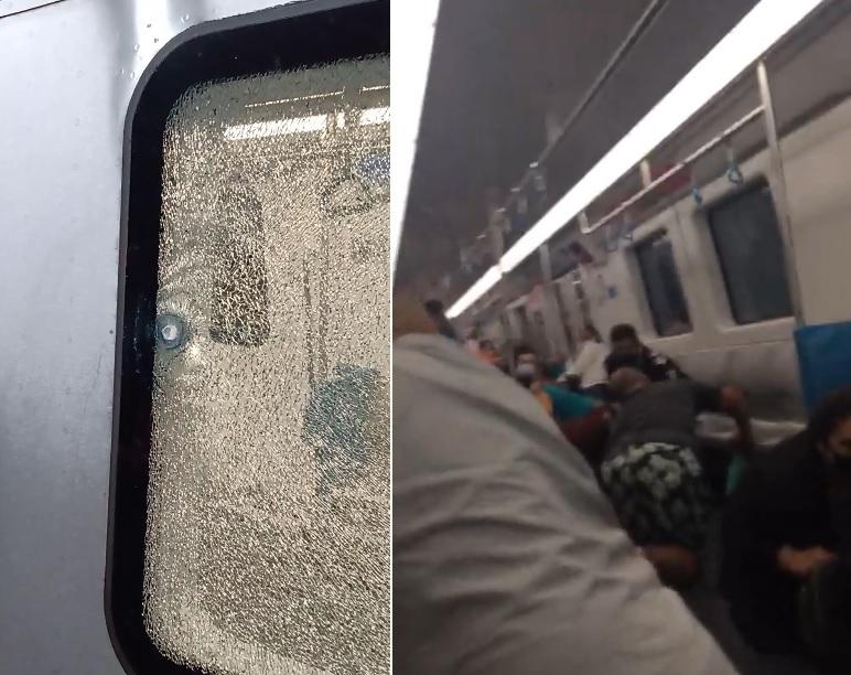 Polícia Civil realizava operação em local próximo; três pessoas ficaram feridas