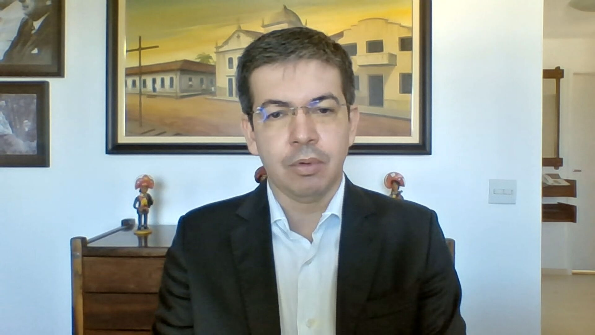 Senador Randolfe Rodrigues (Rede-AP), vice-presidente da CPI da Pandemia