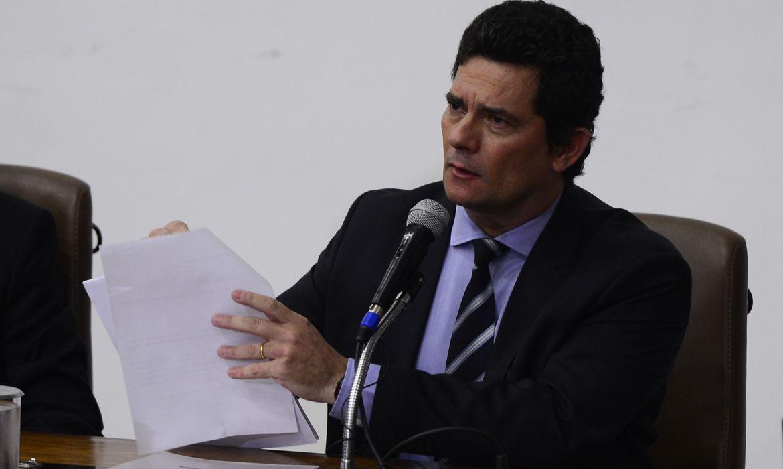 Ex-ministro da Justiça Sergio Moro anuncia saída do governo