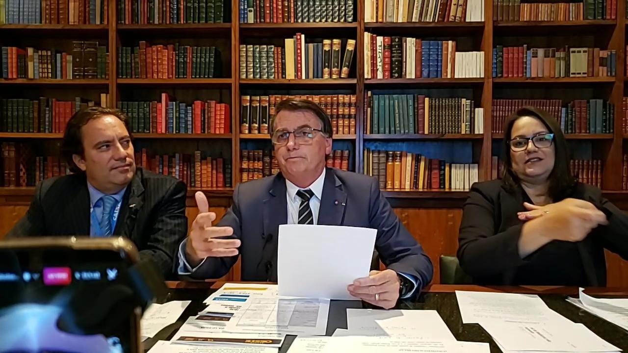 Presidente Jair Bolsonaro, 06/05/21