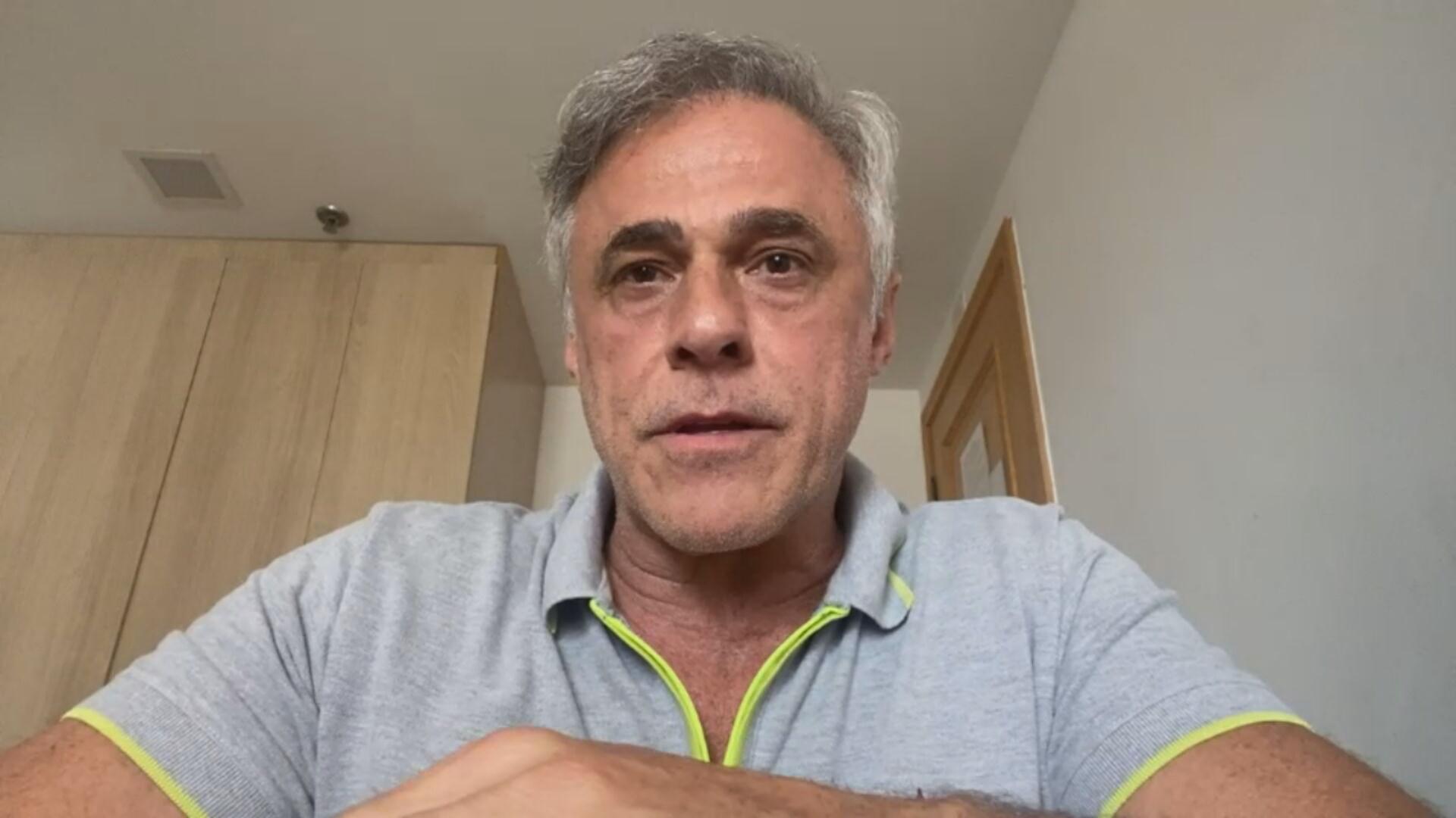 Ator Oscar Magrini (8 de maio de 2021)