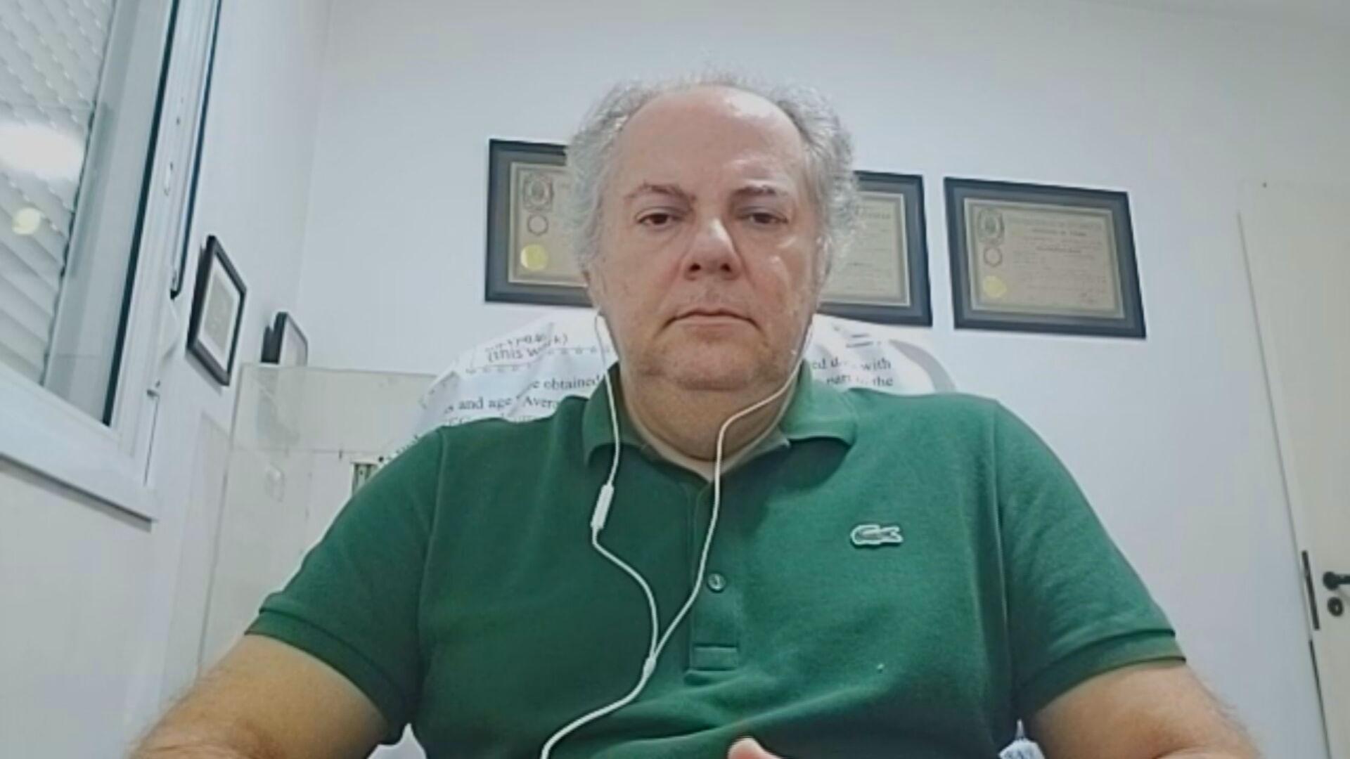 Annibal Hetem, professor de Engenharia Aeroespacial na UFABC (09.Mai.2021)