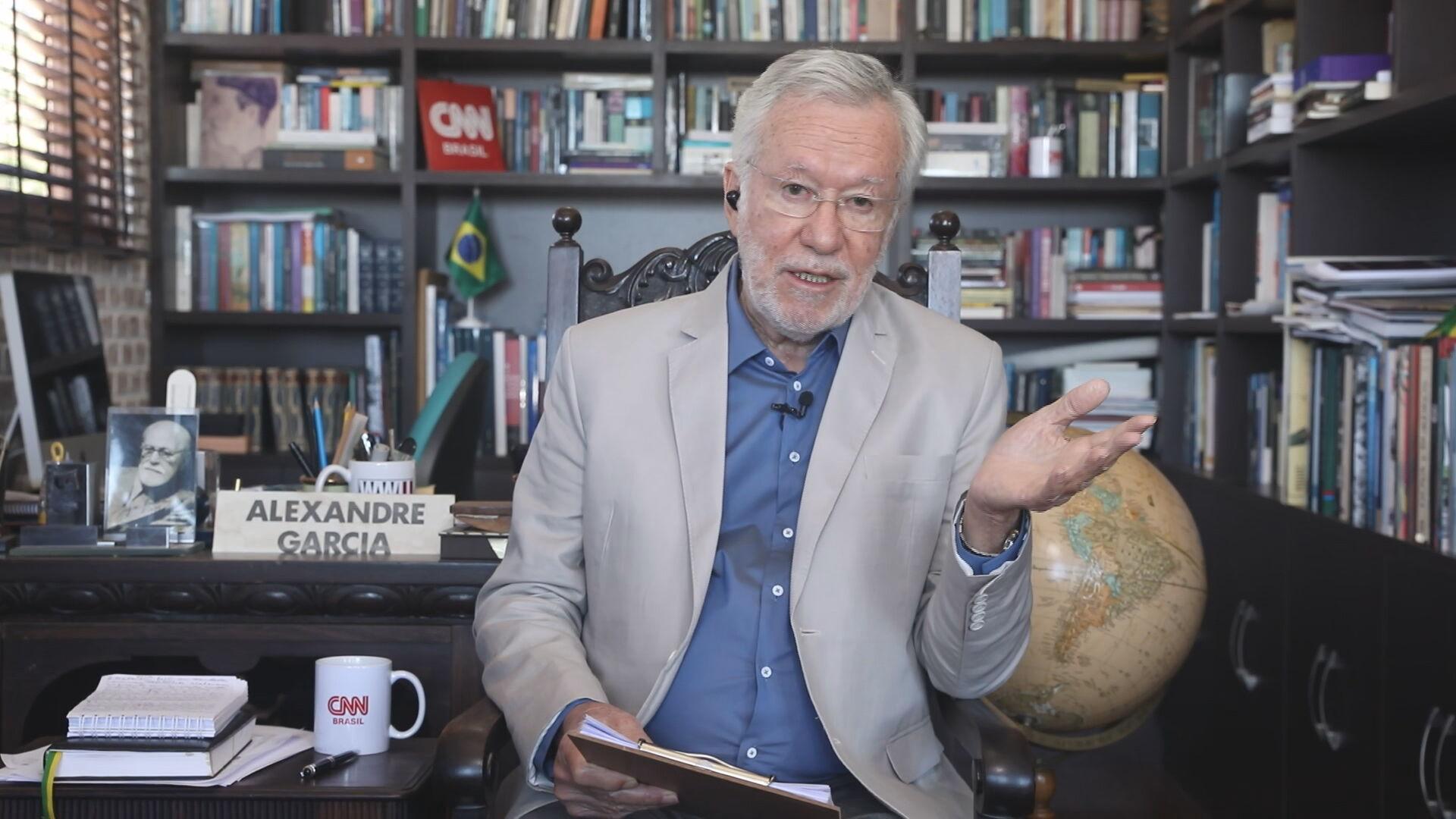 Alexandre Garcia no quadro Liberdade de Opinião