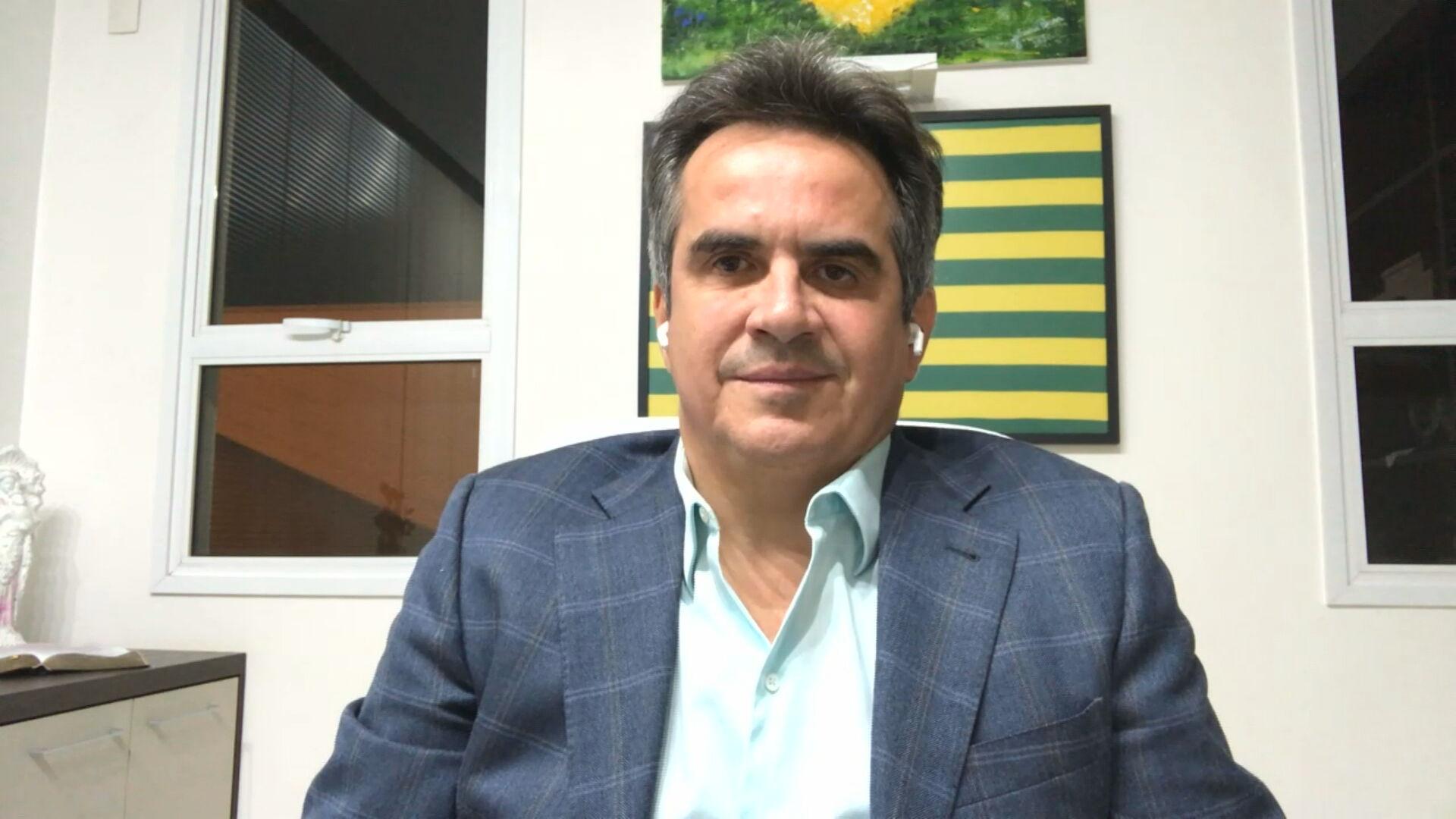 O senador Ciro Nogueira (PP-PI) conversou com a CNN sobre a CPI da Pandemia