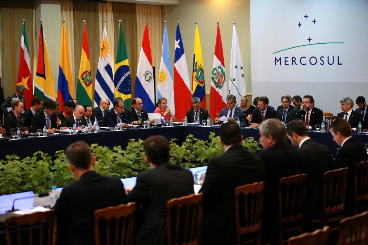 Reunião de chanceleres do Mercosul