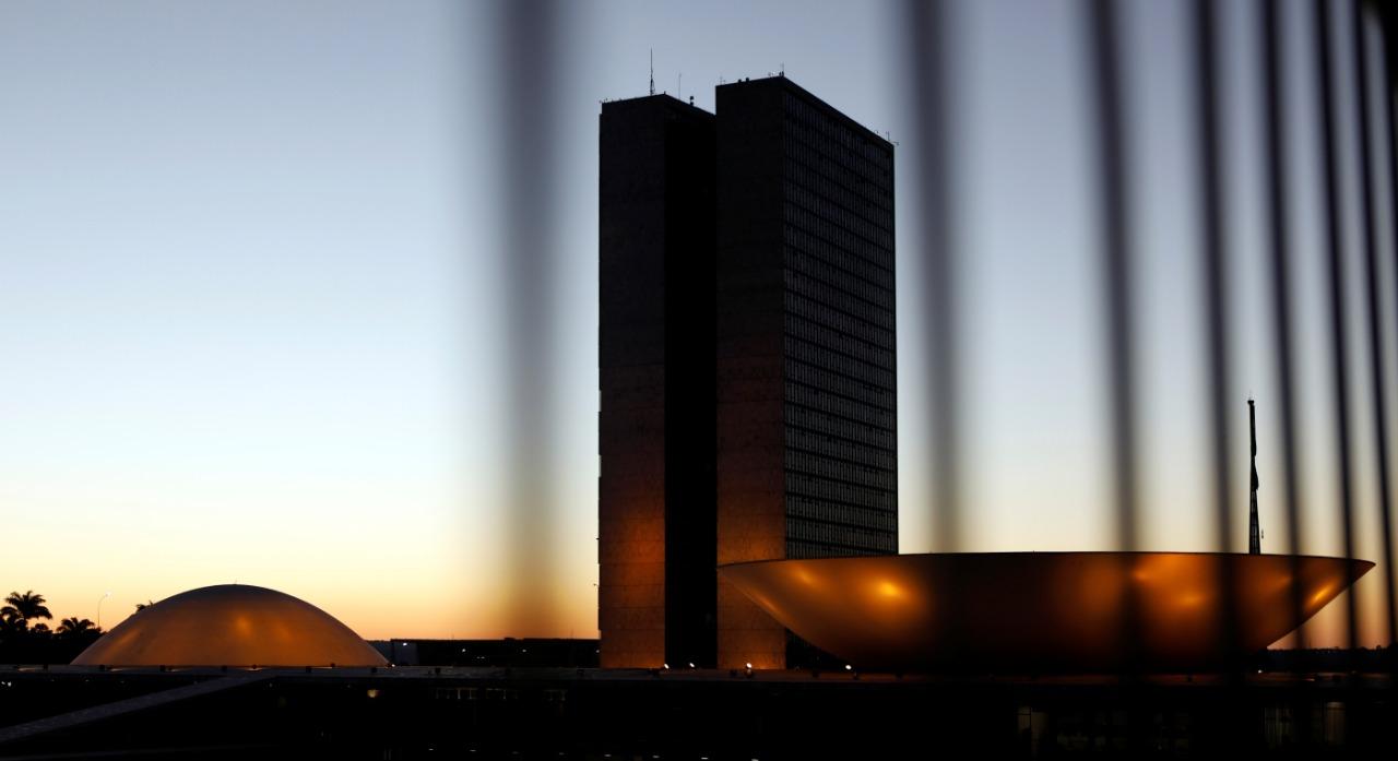Vista do prédio do Congresso Nacional em Brasília 25/05/2017