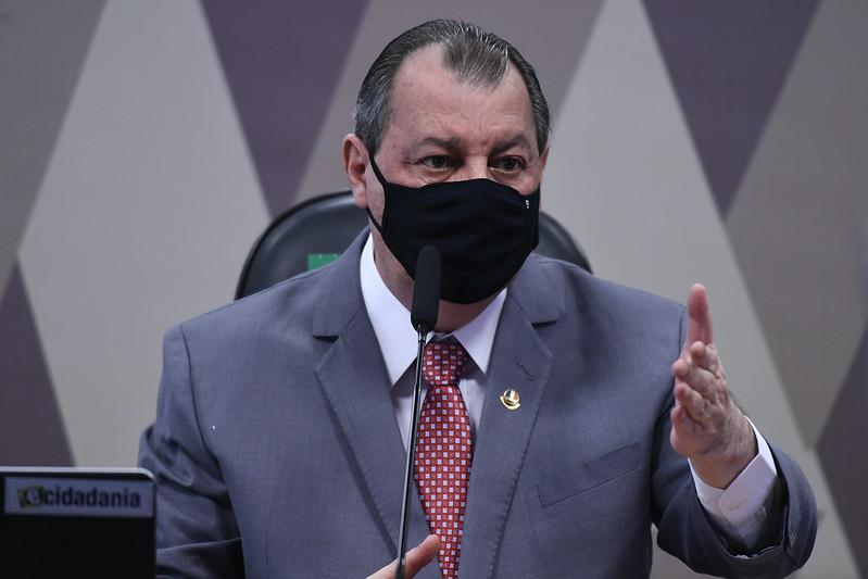 Presidente da CPI da Pandemia, senador Omar Aziz (PSD-AM)