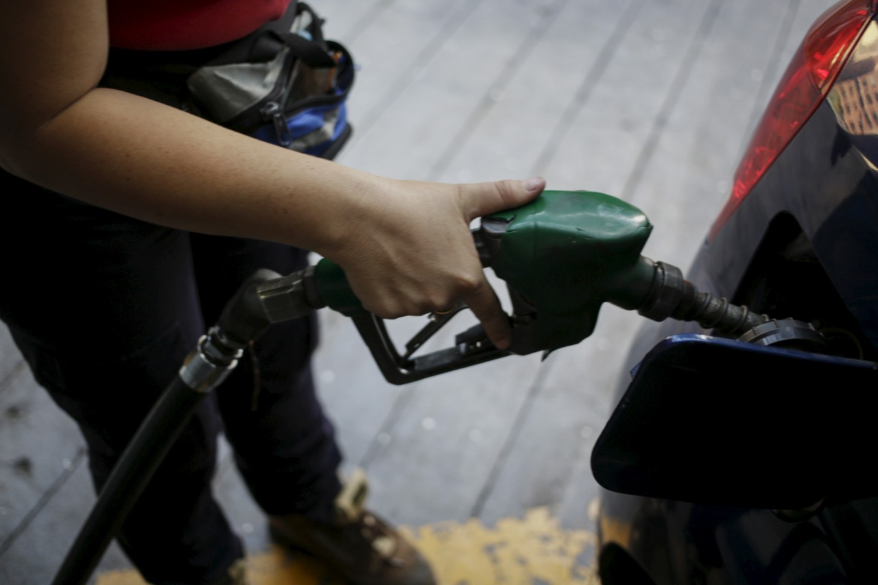 Posto de gasolina em Caracas