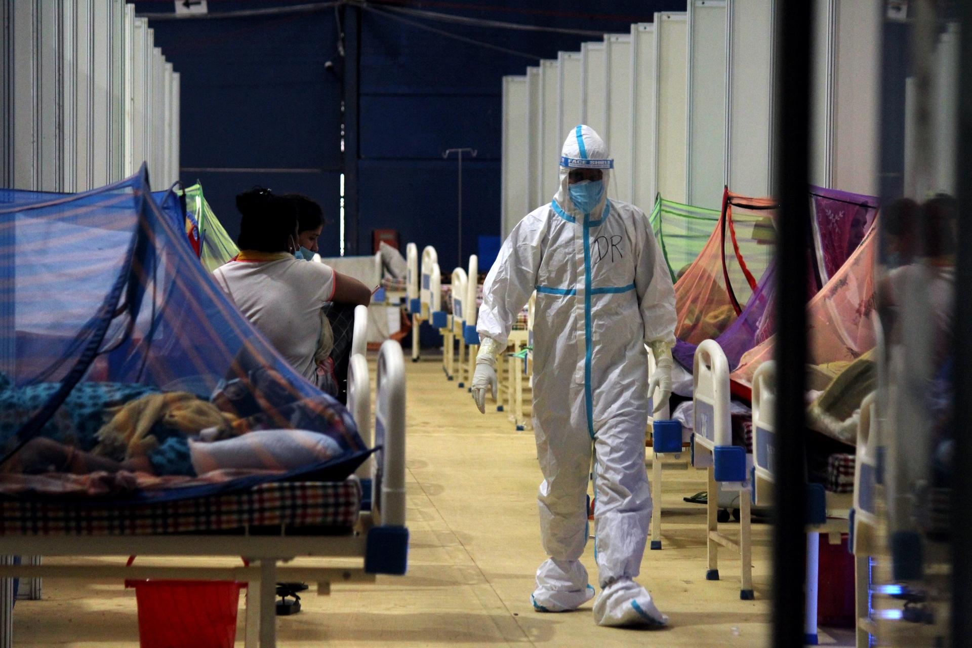 Índia passou de 24 milhões de infecções por Covid-19