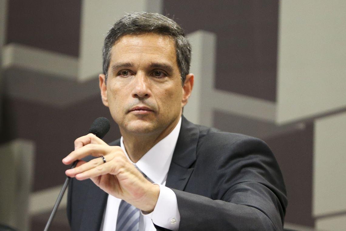 O presidente do Banco Central Campos Neto