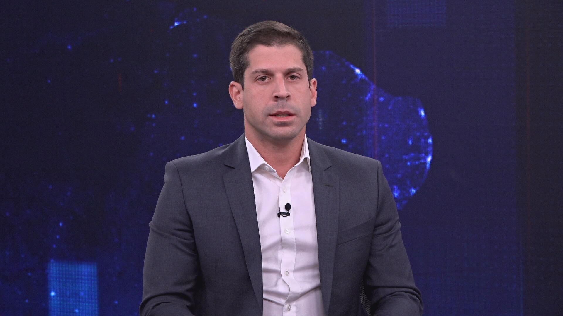 O secretário da Desestatização Diogo Mac Cord em entrevista à CNN