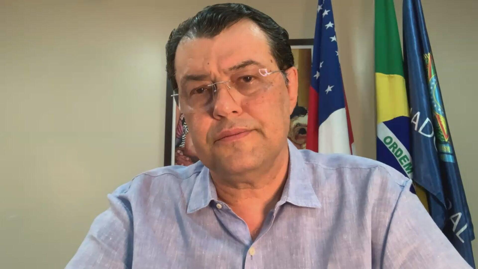 O senador Eduardo Braga (MDB-AM)