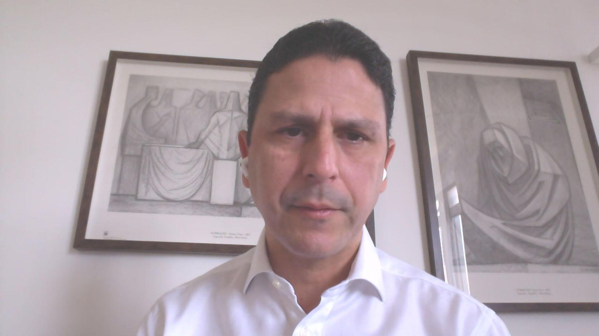 Presidente Nacional do PSDB, Bruno Araujo (16 de maio de 2021)