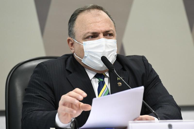 Eduardo Pazuello presta depoimento à CPI