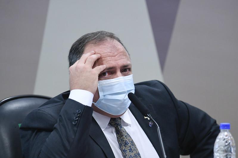 Pazuello presta depoimento à CPI da Pandemia