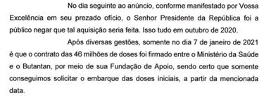 Documento Renan Calheiros