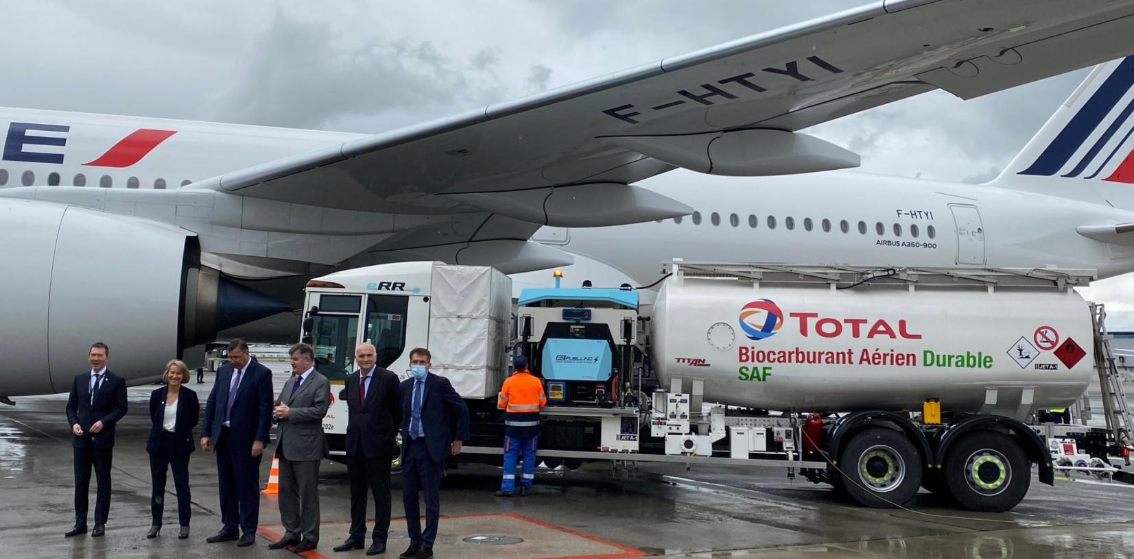 AirFrance opera seu primeiro voo de longa distância equipado com Sustainable Avi