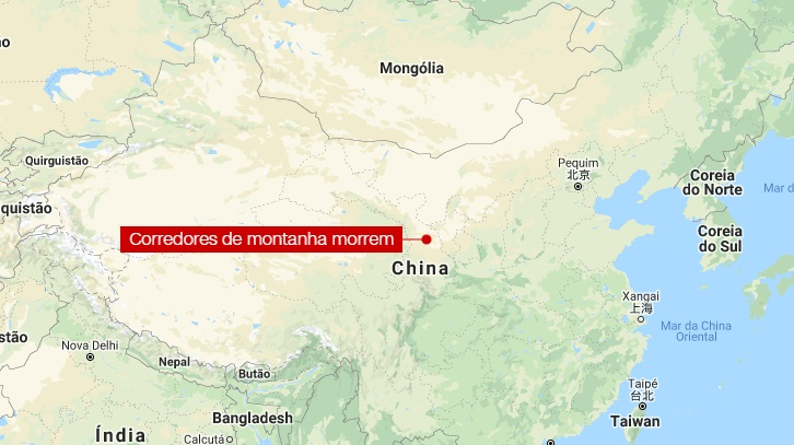Clima extremo matou 21 corredores na montanha cross-coutntry, na China
