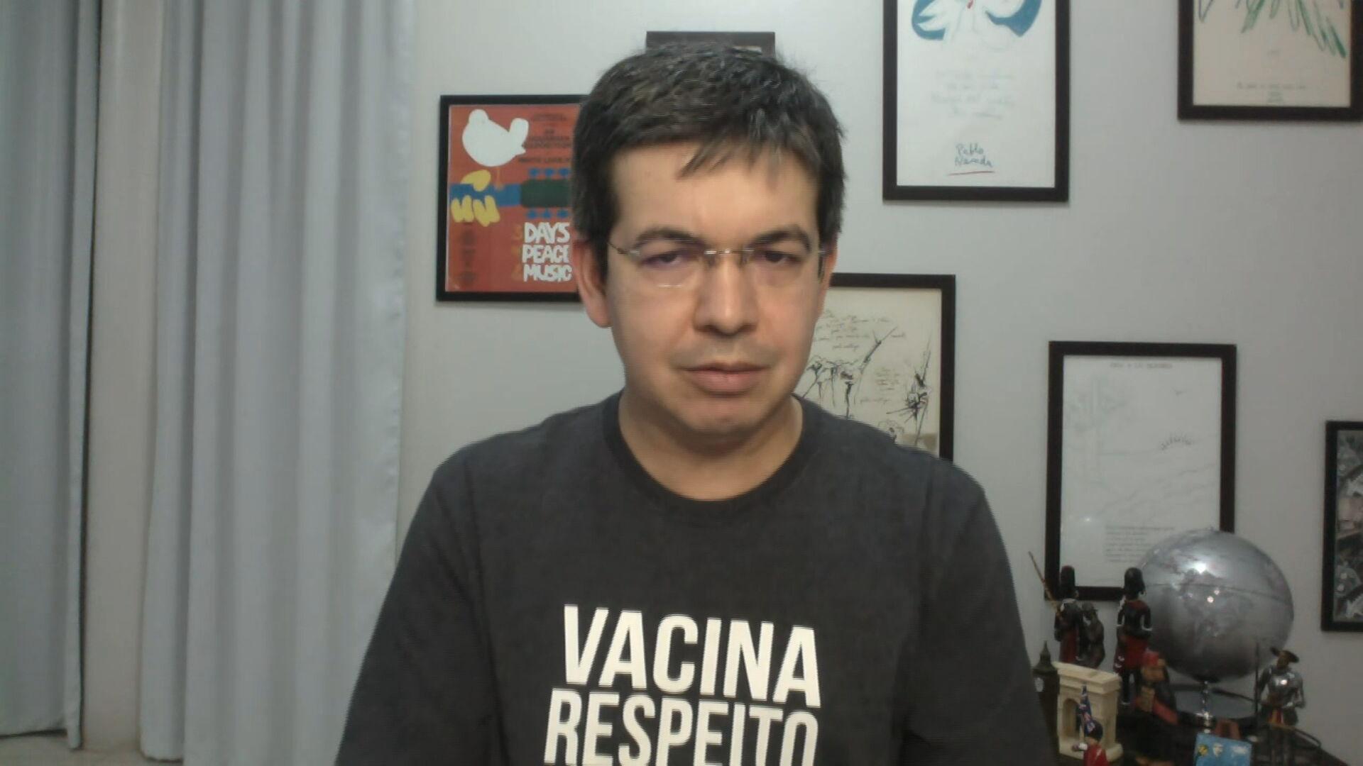 O senador Randolfe Rodrigues (Rede-AP) (23.Mai.2021)