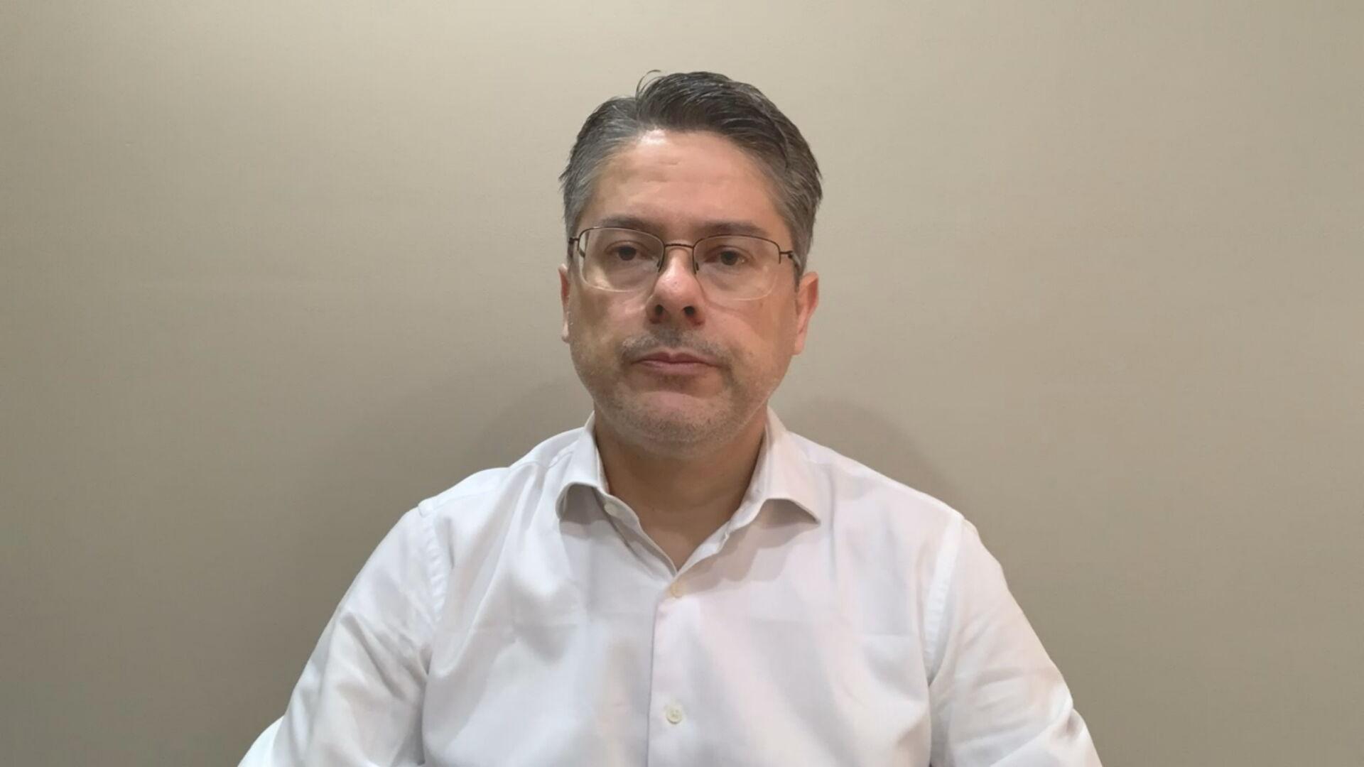 Senador Alessandro Vieira (Cidadania-SE), suplente CPI da Pandemia