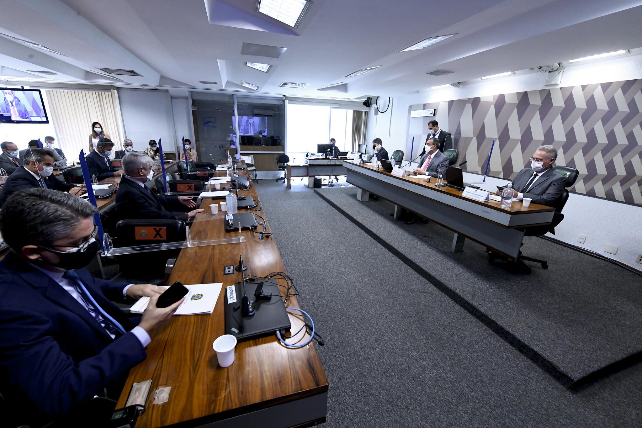 Sem oitiva, CPI da Pandemia vota requerimentos de convocações e informações