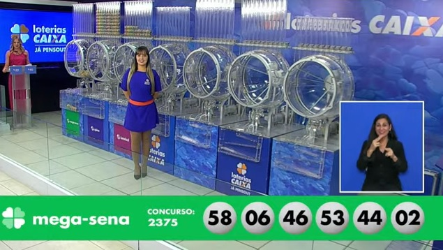 Mega-Sena: sorteio do concurso 2.375