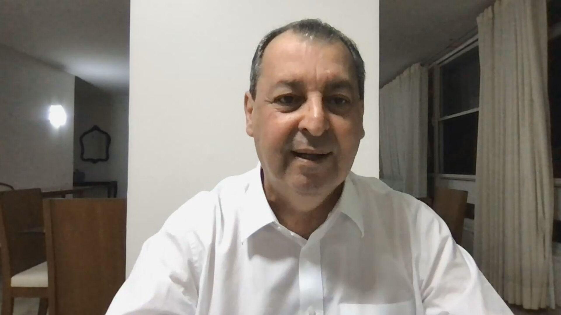 Senador Omar Aziz (PSD-AM), presidente da CPI da Pandemia, falou sobre próximos