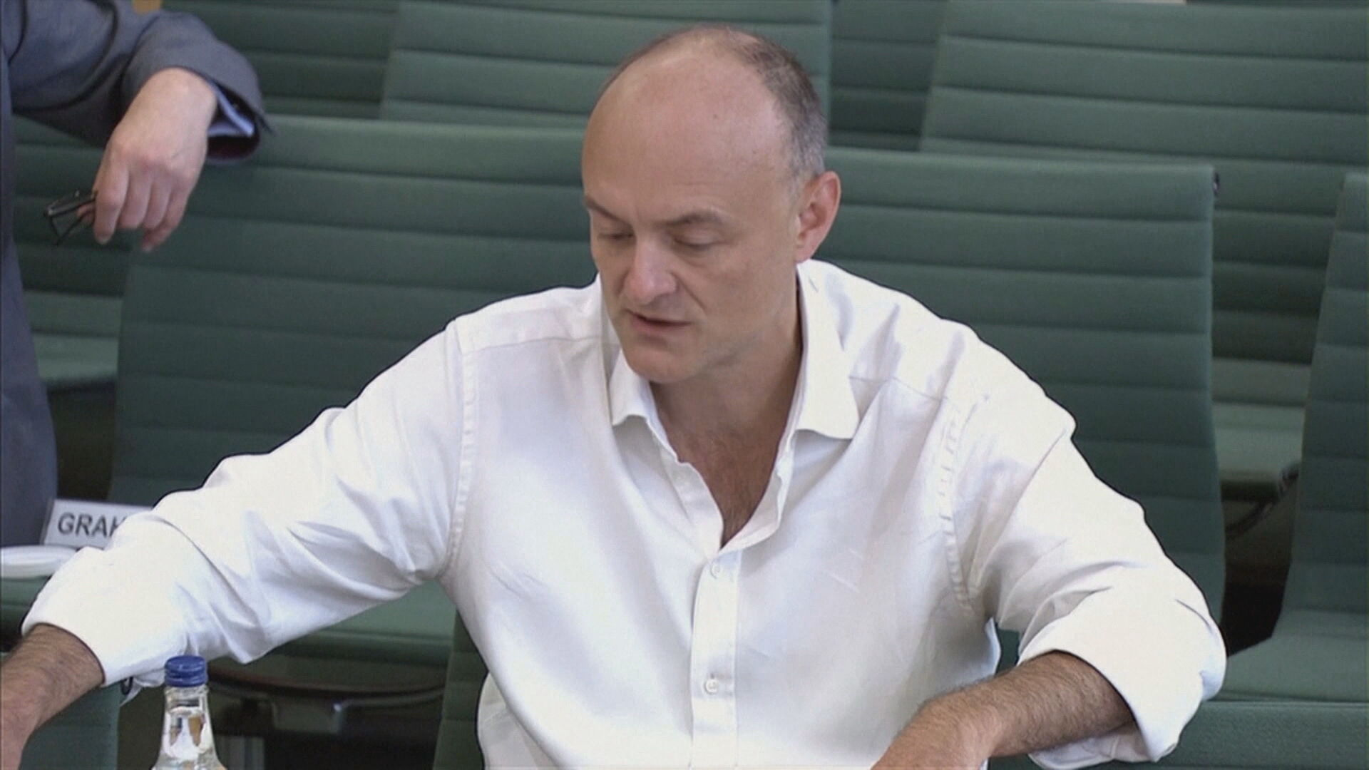 Ex-conselheiro de Boris Johnson, Dominic Cumming