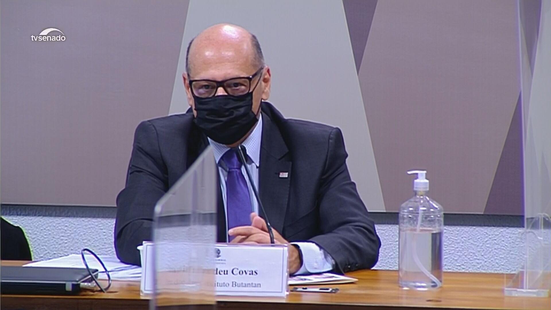 Dimas Covas, diretor do Instituto Butantan