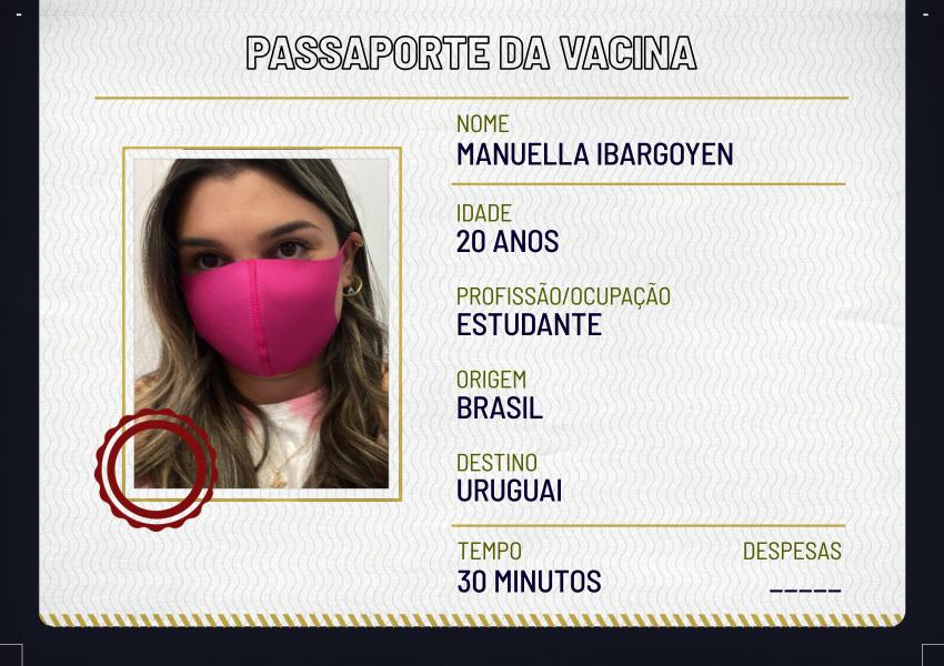 Deslocamentos: Manuella Ibargoyen