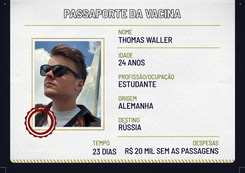 Deslocamentos: Thomas Waller