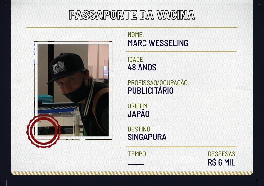 Deslocamentos: Marc Wesseling
