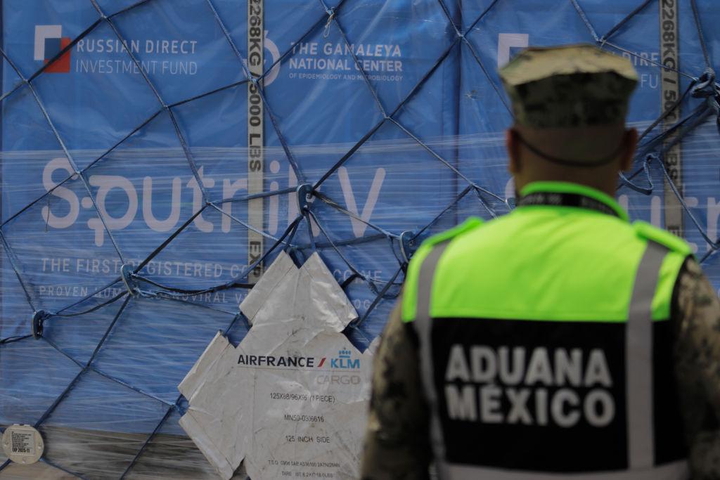 Carregamento de Sputnik chega ao México