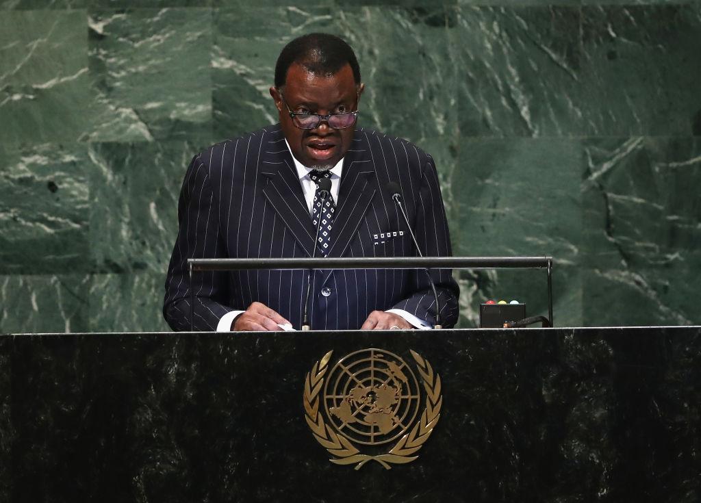 Presidente da Namíbia, Hage Geingob