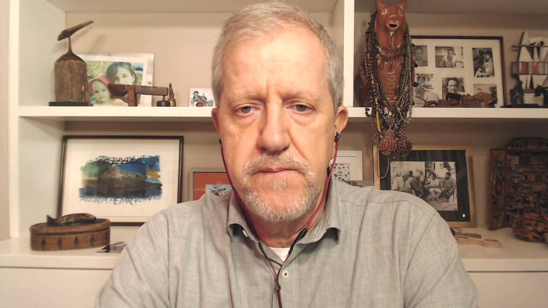O vice-presidente do IDS, João Paulo Capobianco, em entrevista à CNN