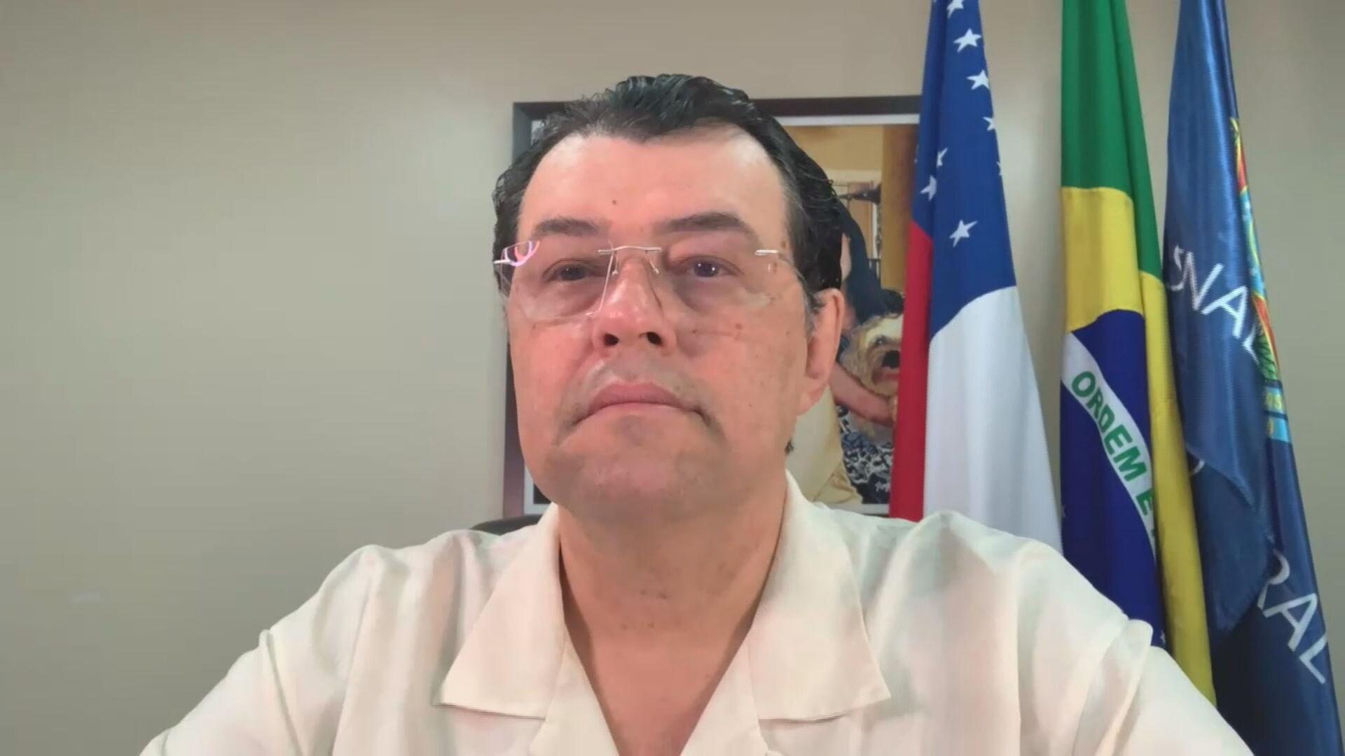 Senador Eduardo Braga (MDB-AM) integrante da CPI da Pandemia (29 de maio de 2021