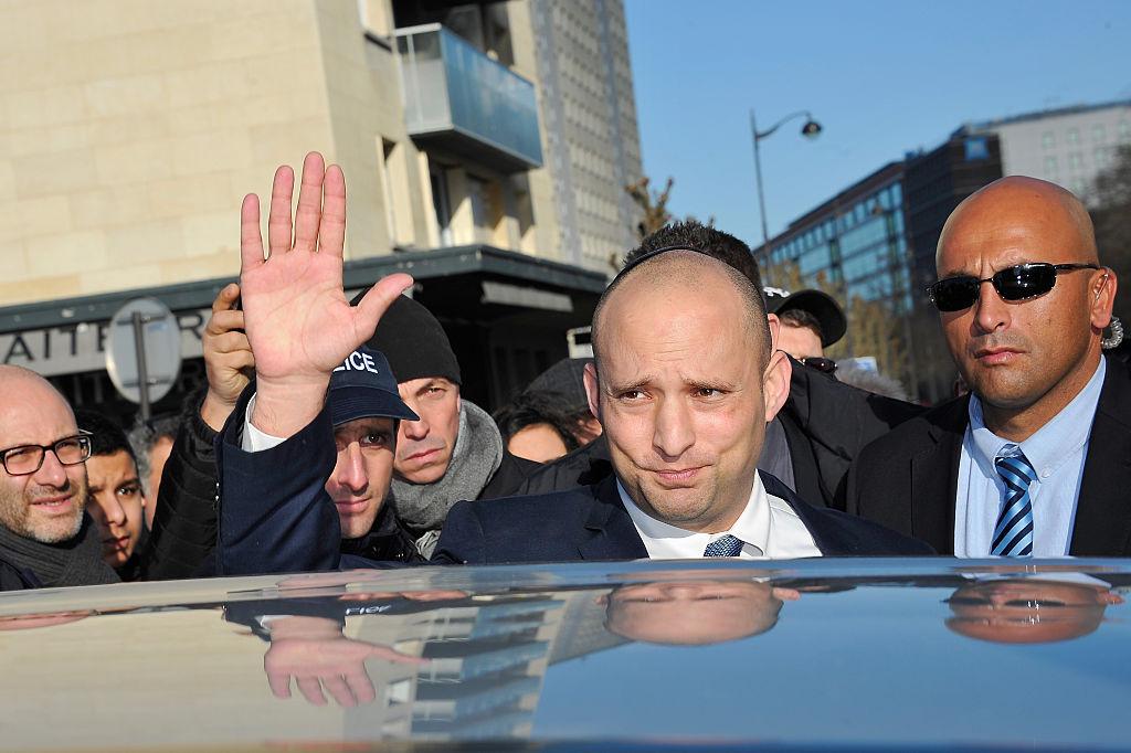 Naftali Bennett, líder partido de direita Yamina