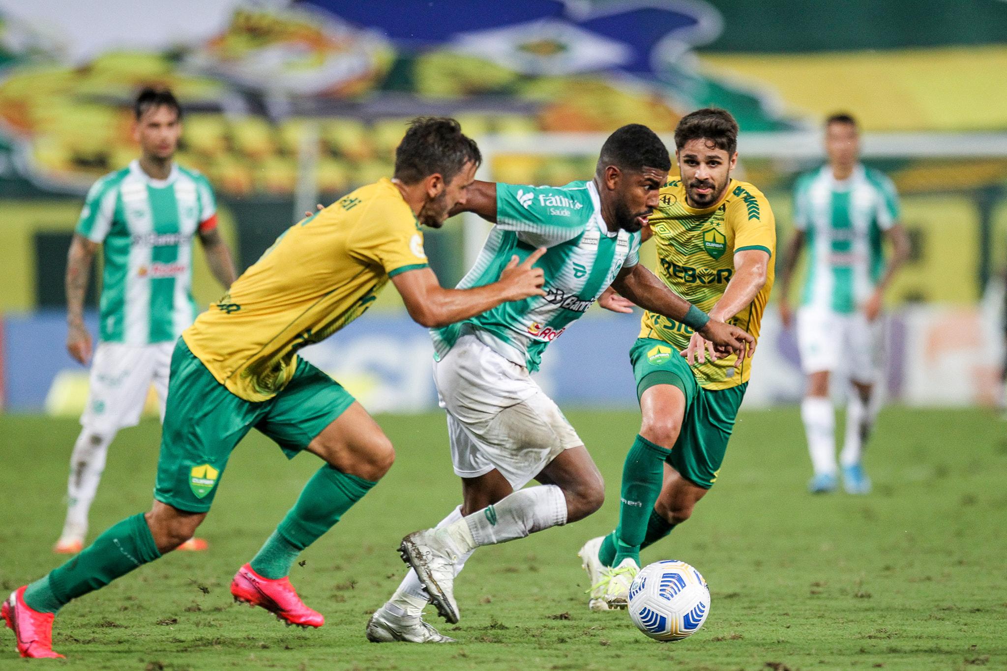 Juventude e Cuiabá empataram em 2 a 2 na Arena Pantanal