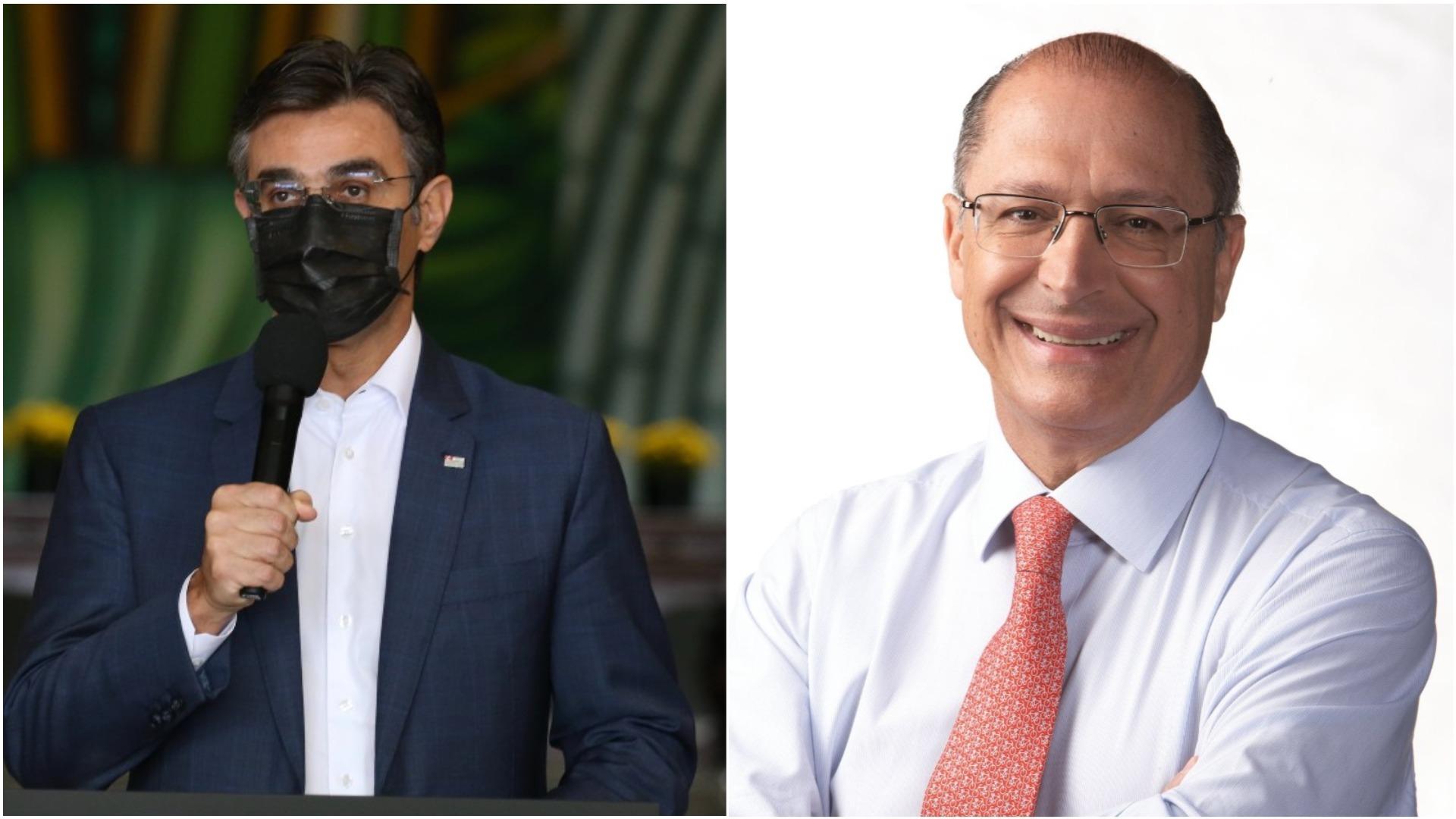 Rodrigo Garcia e Geraldo Alckmin disputarão as prévias do PSDB paulista