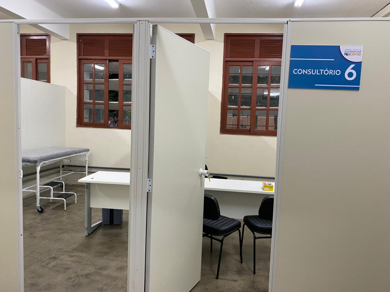 Ambulatório pós-Covid do Hospital Pedro Ernesto, da UERJ