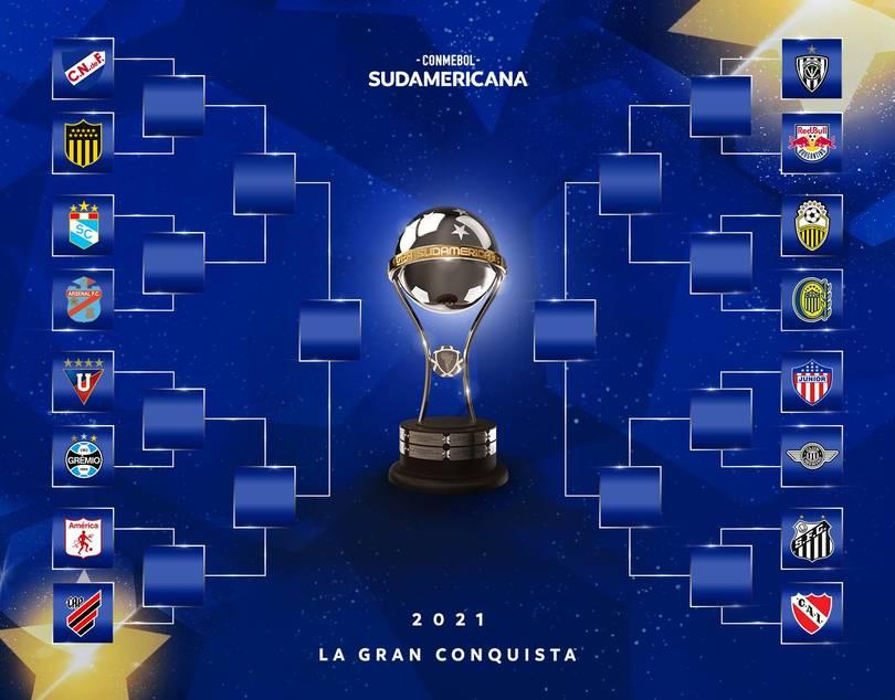Chaveamento da Copa Sul-Americana até as finais
