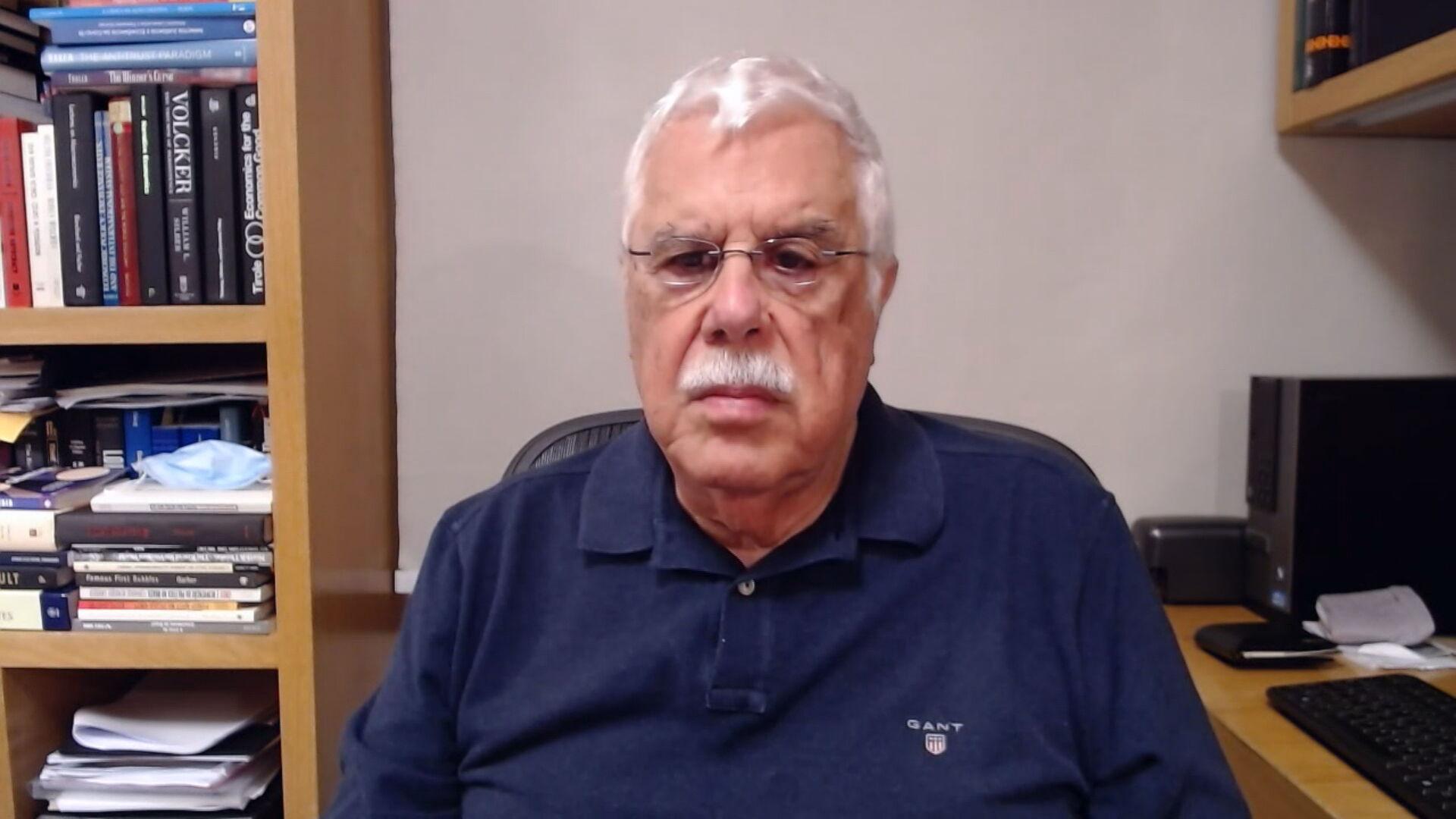 O ex-presidente do Banco Central Celso Pastore em entrevista à CNN